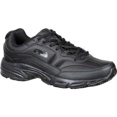 Fila Wide Memory Workshift Slip-Resistant Work Athletic Shoe, , large