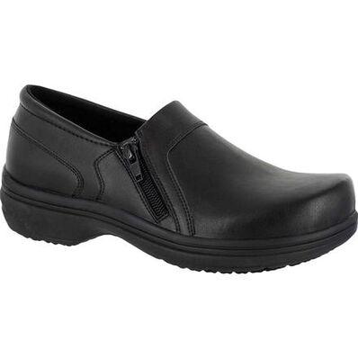 Easy WORKS by Easy Street Bentley Women's Slip-Resistant Clog, , large