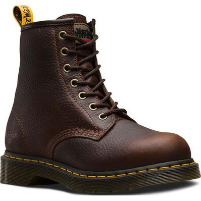 Dr. Martens Icon Maple Zip Women's Steel Toe Electrical Hazard Work Boot, , large