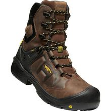 KEEN Utility® Dover Men's 8 Inch Carbon-Fiber Toe Electrical Hazard Waterproof Work Boot