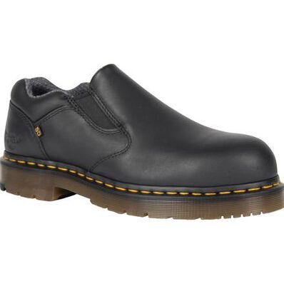 Dr. Martens Dunston Men's Steel Toe Static-Dissipative Slip-on Work Shoe, , large
