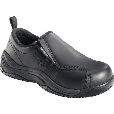 Nautilus Women's Composite Toe Slip-On Work Shoe, , large