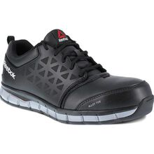 Reebok Sublite Cushion Work Men's Alloy Toe Conductive Athletic Shoe