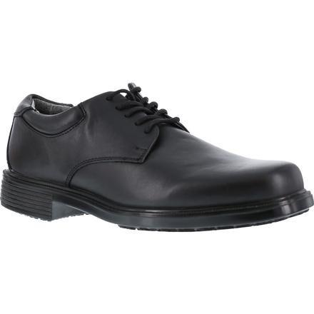 Slip-Resistant Black Dress Oxford, RK6522