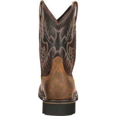 Ariat Sierra Wide Square Toe Steel Toe Puncture-Resistant Western Work Boot, , large