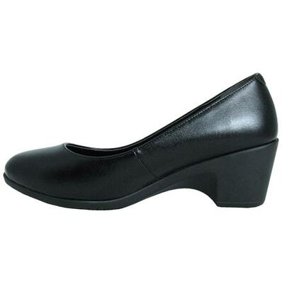Genuine Grip Women's Low Heel Pump, , large