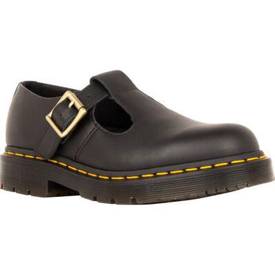 Dr. Martens Polley Women's Slip-Resistant Leather Mary Jane Work Shoe, , large