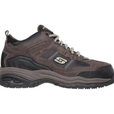 SKECHERS Work Soft Stride-Canopy Men's 5 inch Composite Toe Electrical Hazard Athletic Work Hiker, , large