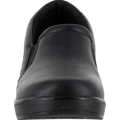Easy WORKS by Easy Street Leeza Women's Slip-Resistant Slip-on Work Shoe, , large