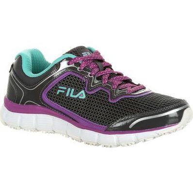 Fila Memory Fresh Start Women's Slip-Resistant Work Athletic Shoe, , large