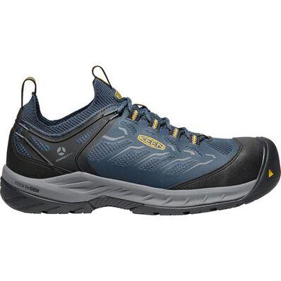 KEEN Utility® Flint II Sport Men's Carbon Fiber Toe Electrical Hazard Non-metallic Athletic Work Shoe, , large