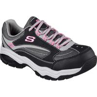 SKECHERS Work Biscoe Women's Steel Toe Electrical Hazard Slip-Resistant Athletic Shoe, , medium