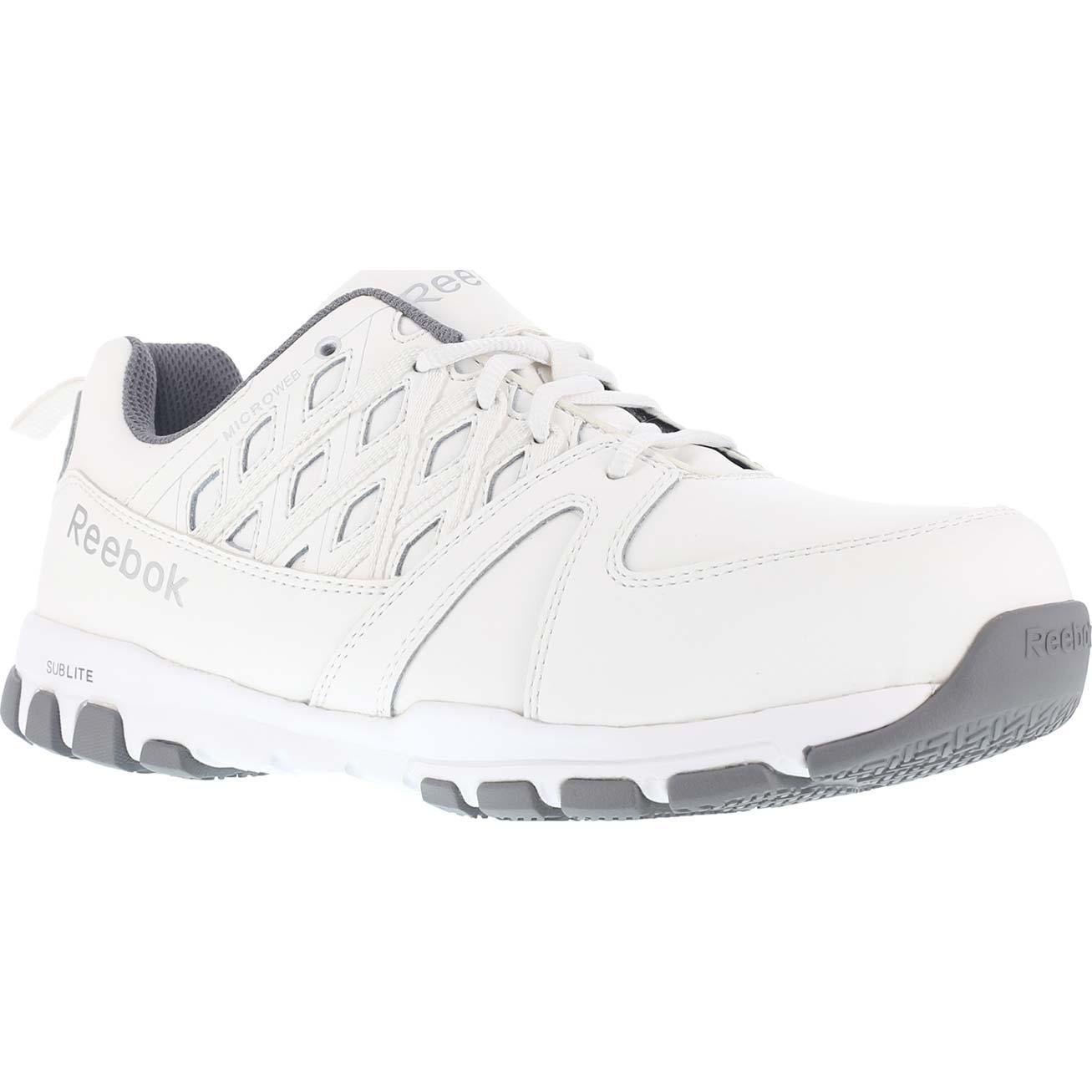 03148fe0ce9 Reebok Sublite Work Women's Steel Toe Static-Dissipative Work Athletic Shoe