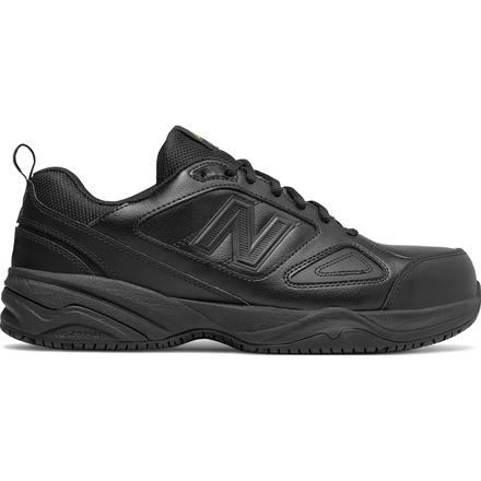 New Balance 627v2 Men's Steel Toe Static Dissipative Leather Athletic Work Shoes, , large