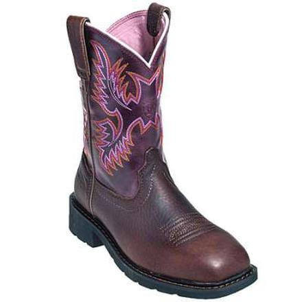 Ariat Women's Krista Pull-On Steel Toe Work Boot, , large