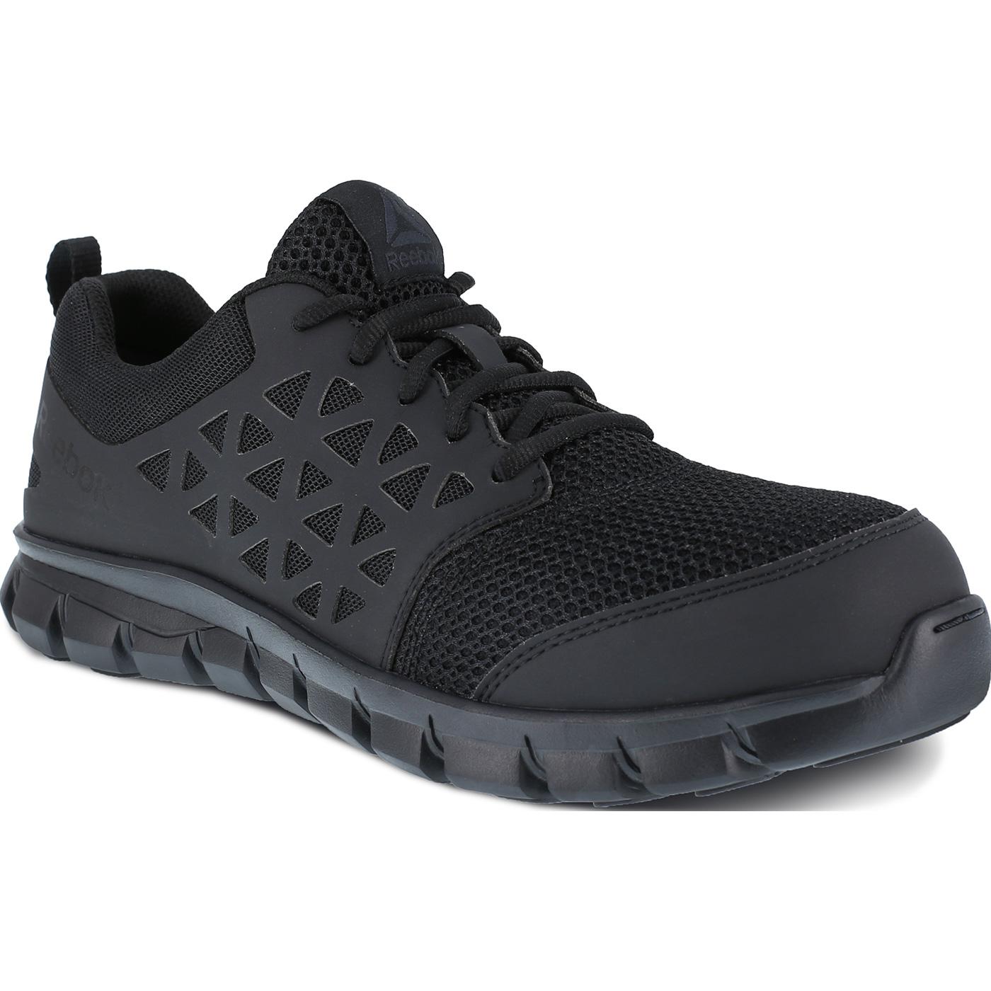 9a981515a01 Reebok Sublite Cushion Work Men s Composite Toe Static-Dissipative  Slip-Resistant Work Athletic ShoeReebok Sublite Cushion Work Men s Composite  Toe ...