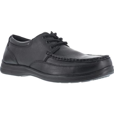 Florsheim Work Wily Women's Steel Toe Static-Dissipative Work Moc Toe Oxford