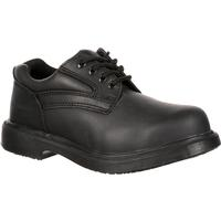 Genuine Grip Women's Slip-Resistant Steel Toe Oxford, , medium