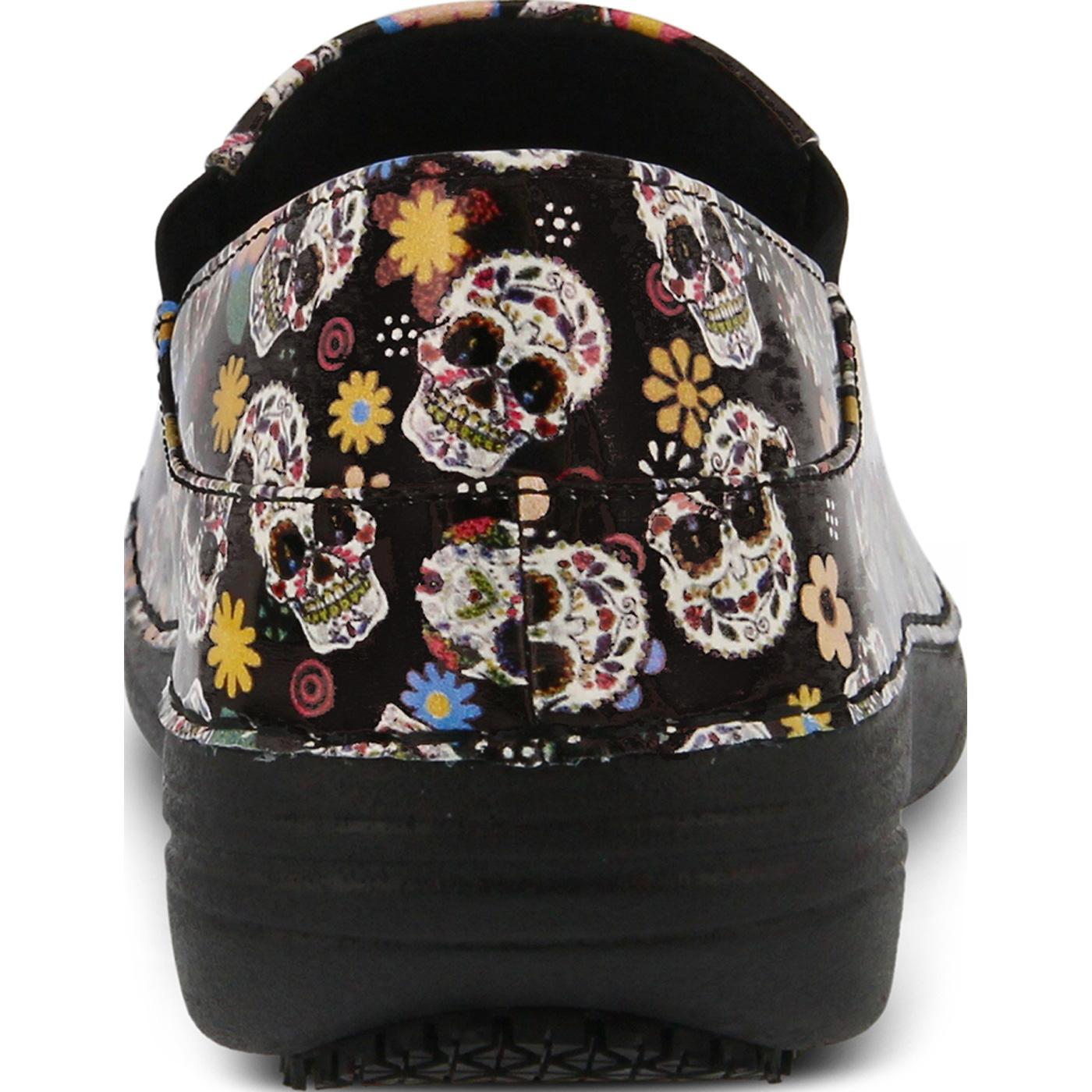 e6a12831f4 Buy the Spring Step Ferrara Small Sugar Skull Women's Slip-Resistant ...