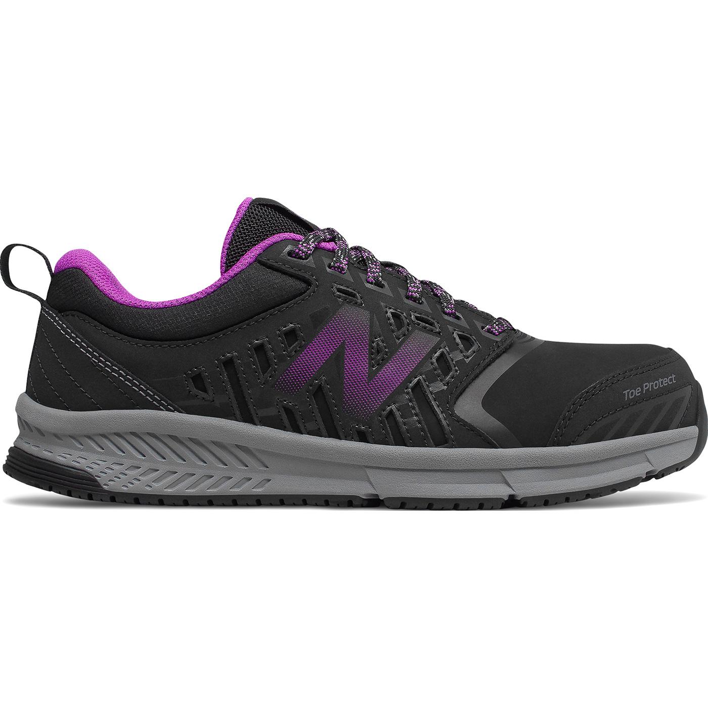 88d349e7eb98b New Balance 412v1 Women's Alloy Toe Black Athletic Work ShoesNew Balance  412v1 Women's Alloy Toe Black Athletic Work Shoes,
