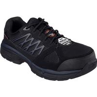 SKECHERS Work Relaxed Fit Conroe Searcy ESD Alloy Toe Static-Dissipative Work Athletic Shoe, , medium