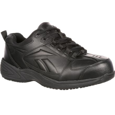 Reebok Jorie Composite Toe Slip-Resistant Athletic Work Shoe, , large