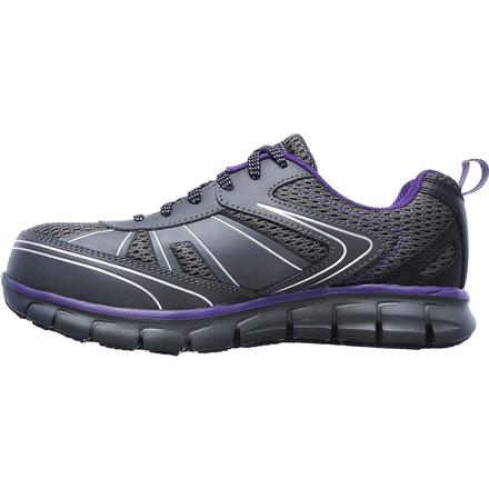 SKECHERS Work Synergy Algonac Women's Alloy Toe Work Athletic Shoe, , large