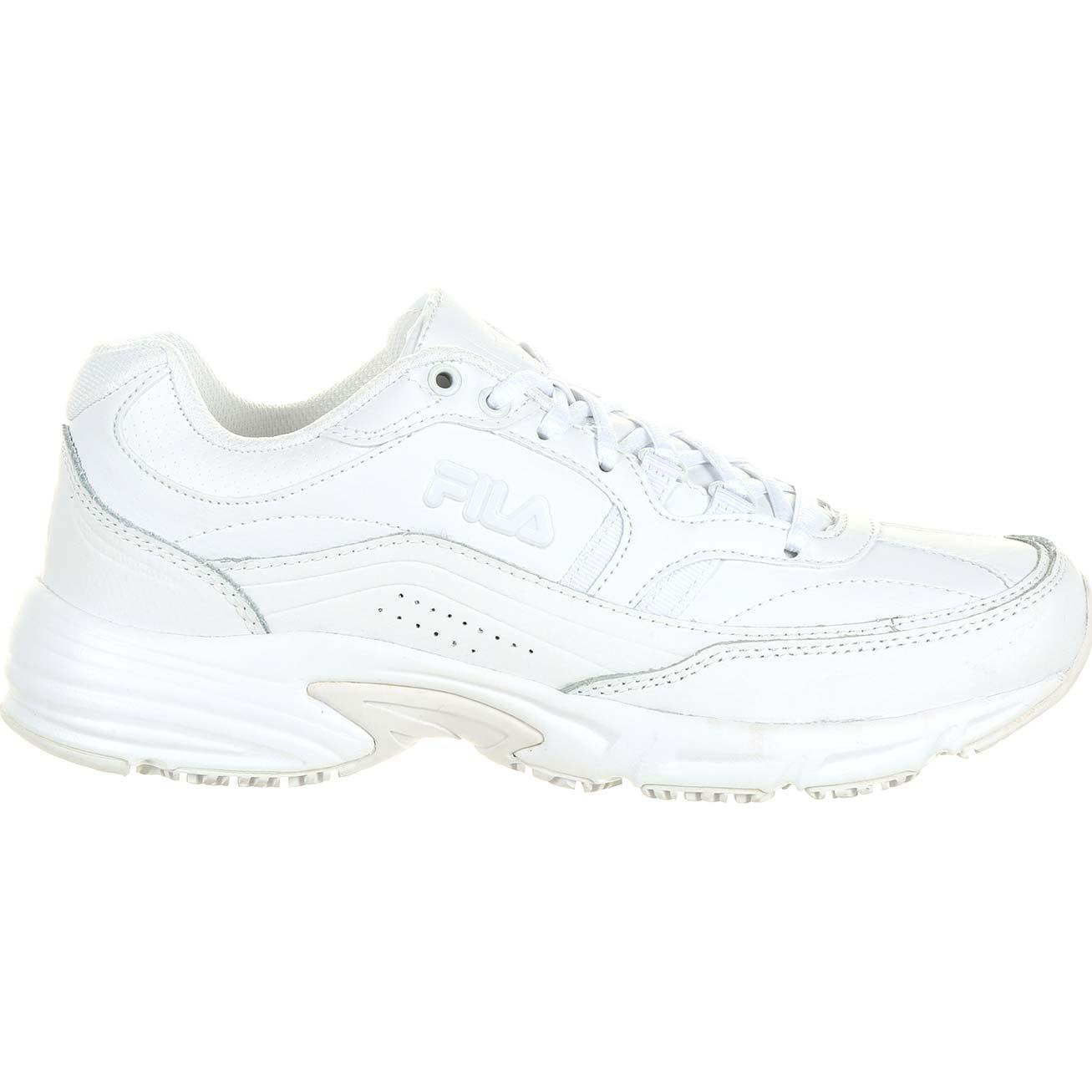 a596019eeff5 Fila Wide Memory Workshift Slip-Resistant Work Athletic Shoe