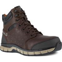 5aece5d4c8478c Reebok Sublite Cushion Work Men s 6 inch Composite Toe Electrical Hazard  Athletic Work Shoe
