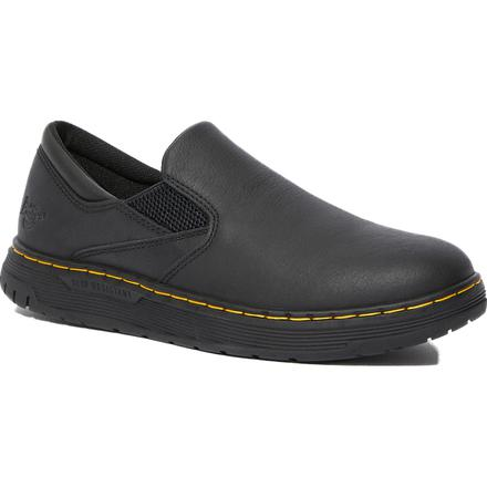 Dr. Martens Brockley SR Men's Electrical Hazard Slip-Resistant Work Slip-On Shoes