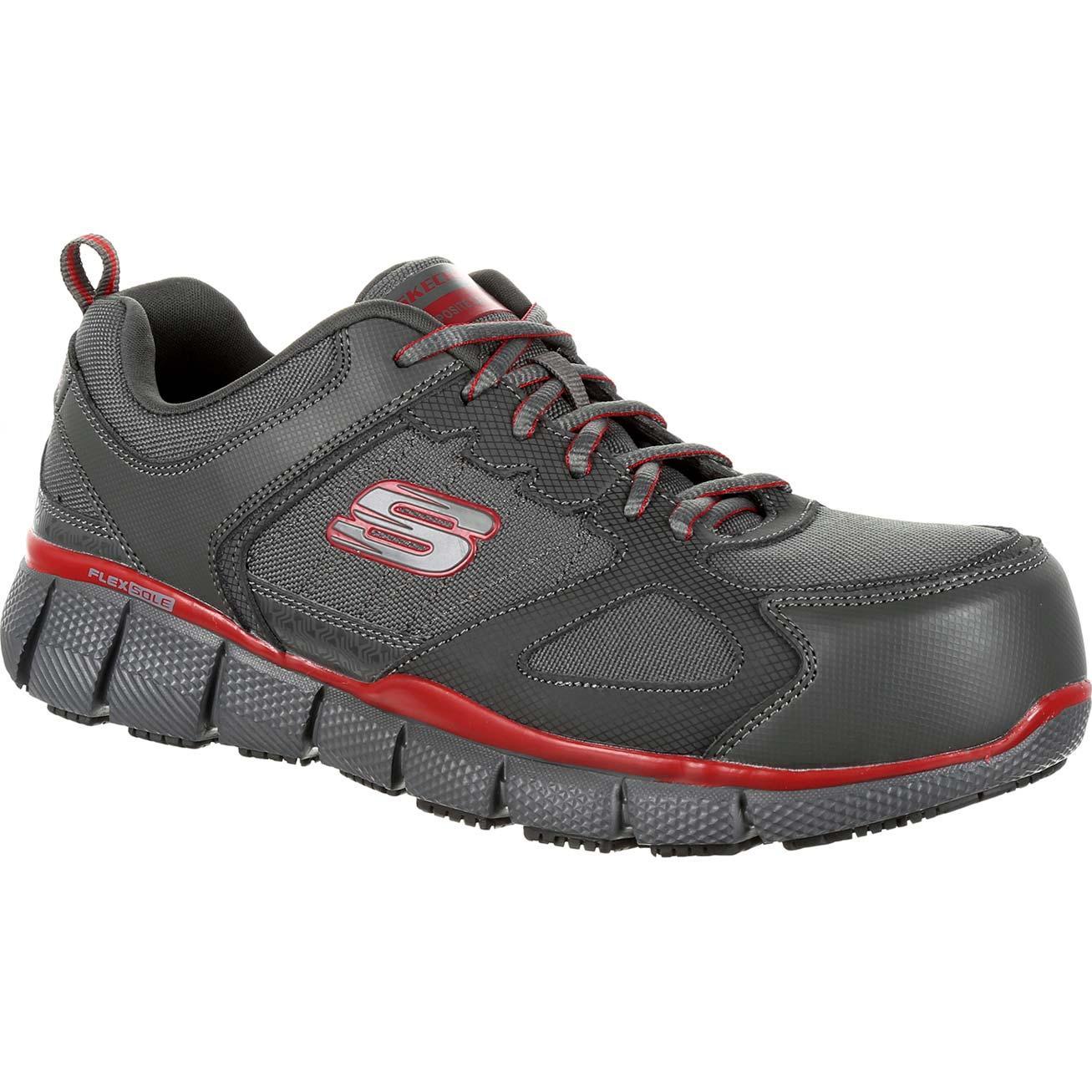 2236dd59959 SKECHERS Telfin Composite Toe Puncture-Resistant Slip-Resistant Work  Athletic ShoeSKECHERS Telfin Composite Toe Puncture-Resistant Slip-Resistant  Work ...