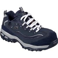 SKECHERS Work D'Lites Pooler Women's Alloy Toe Slip-Resistant Work Athletic Shoe, , medium