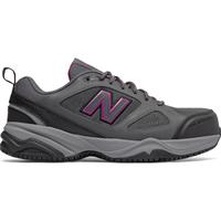 New Balance 627v2 Women's Steel Toe Slip Resistant Static Dissipative Leather Athletic Work Shoe, , medium