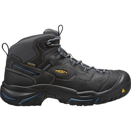 KEEN Utility® Braddock Mid Men's Electrical Hazard Waterproof Work Hiker, , large