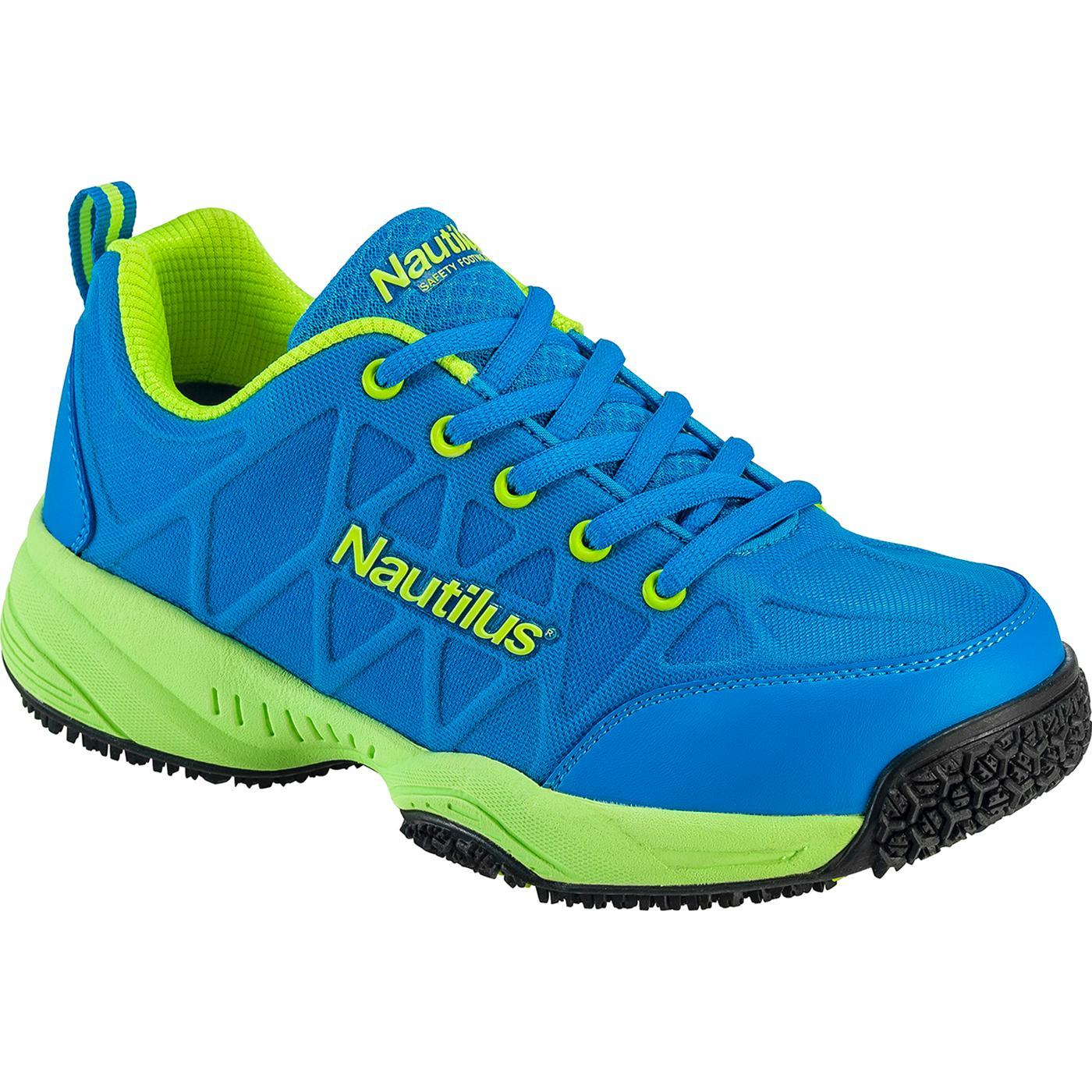 Nautilus Women s Composite Toe Slip-Resistant Work Athletic ShoeNautilus Women s  Composite Toe Slip-Resistant Work Athletic Shoe 06bdb2964