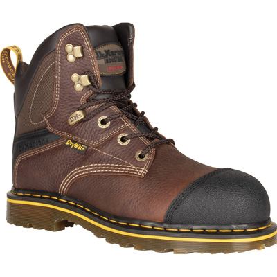 Dr. Martens Duxford Men's Steel Toe Electrical Hazard Waterproof Leather Work Hiker