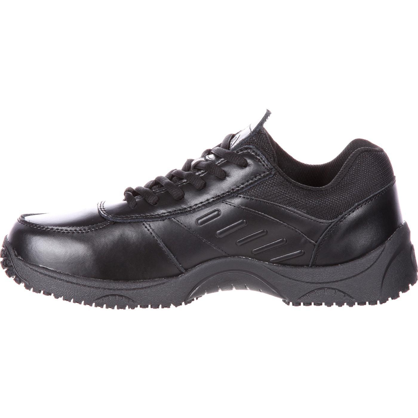 slipgrips s slip resistant black athletic shoe sg7520