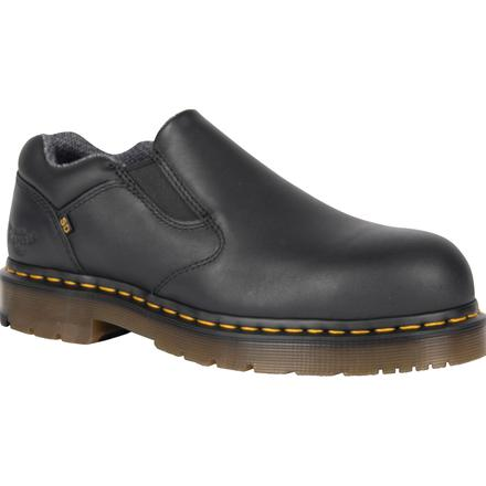 Dr. Martens Dunston Men's Steel Toe Static-Dissipative Slip-on Work Shoe