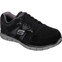 SKECHERS Work Synergy Ekron Men's Alloy Toe Electrical Hazard Athletic Work Shoe, , medium