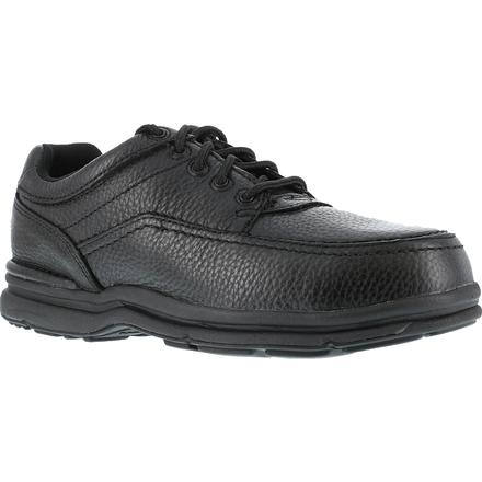Rockport Works World Tour Steel Toe Static-Dissipative Work Oxford