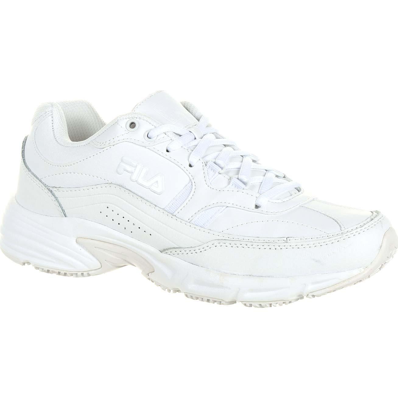 bf117fc0 Fila Memory Workshift Women's Slip-Resistant Work Athletic Shoe