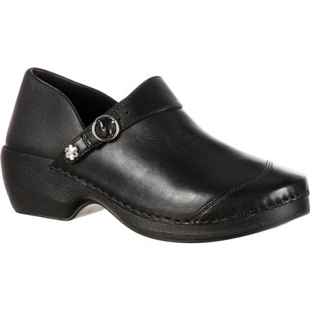 4EurSole Inspire Me Women's Leather Clog, , large
