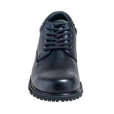 Women s Slip-Resistant Oxford Black work shoe by Grabbers  G112 1026ff8769