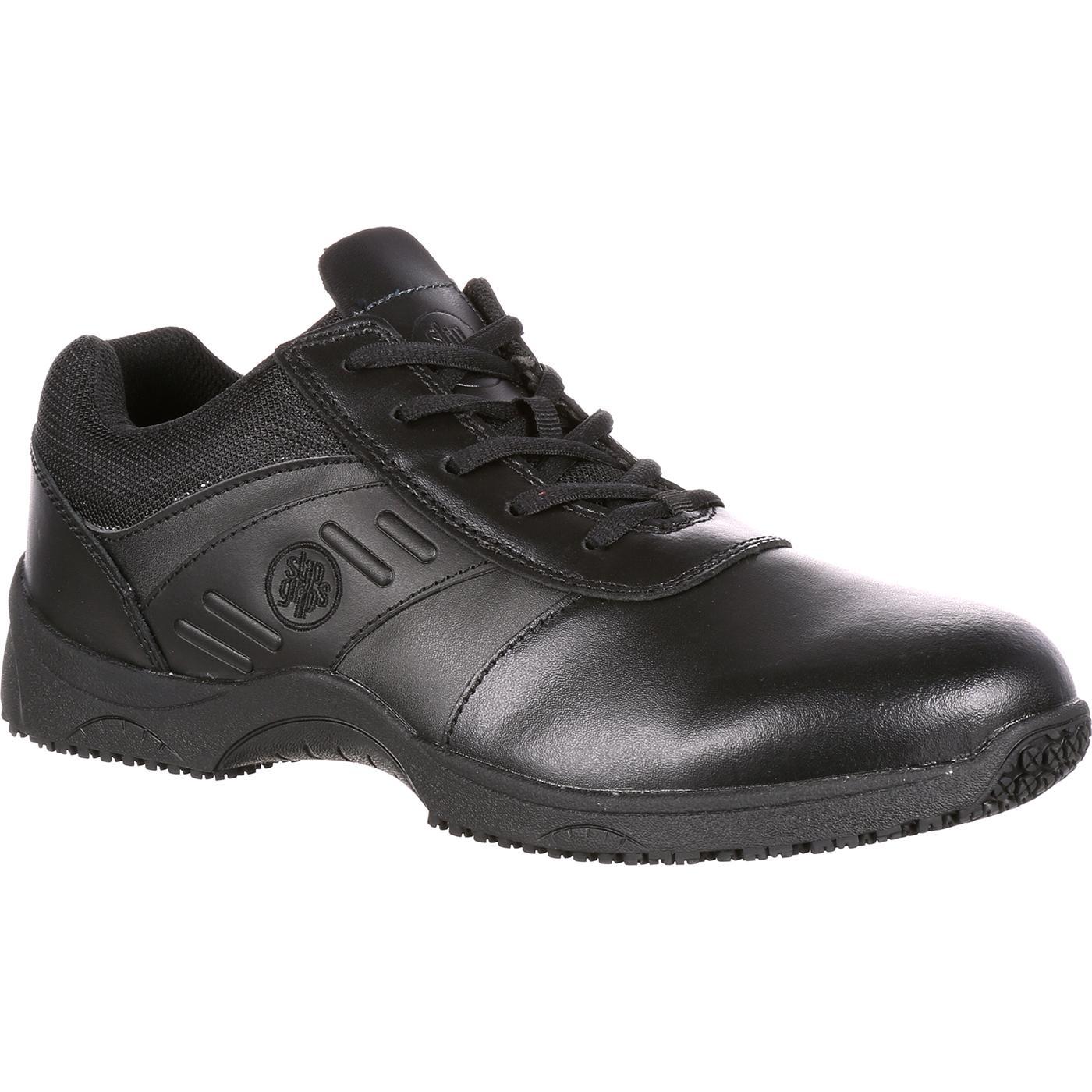Rockport Works Slip Resistant Lace Up Shoes