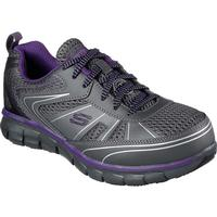 SKECHERS Work Synergy Algonac Women's Alloy Toe Work Athletic Shoe, , medium