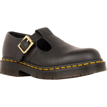 Dr. Martens Polley Women's Slip-Resistant Leather Mary Jane Work Shoe