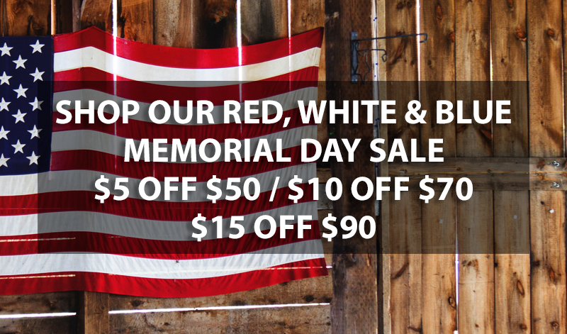 Memorial Day Sale Buy More Get More Event